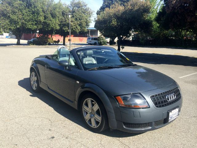 2003 AUDI TT ROADSTER grey 17 inch wheels abs - 4-wheel alloy wheels bose mini disc player cen
