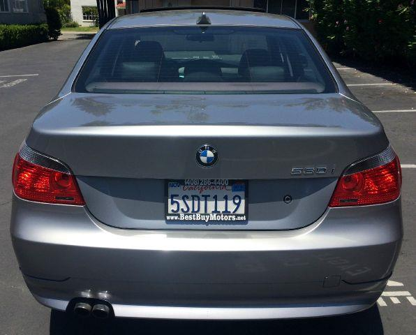 2006 BMW 5 SERIES 530I 4DR SEDAN gray 17 inch wheels abs - 4-wheel air filtration anti-theft al