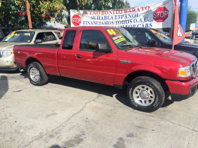 2006 FORD RANGER STX 4DR SUPERCAB STYLESIDE SB red abs - 4-wheel air conditioning amfmcassette
