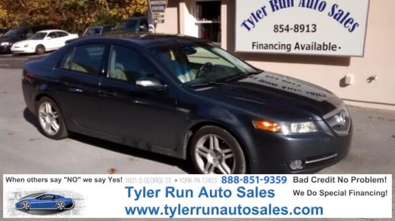 Acura Tl In York PA Tyler Run Auto Sales - Acura special financing