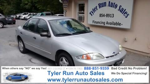 2002 Chevrolet Cavalier for sale in York, PA