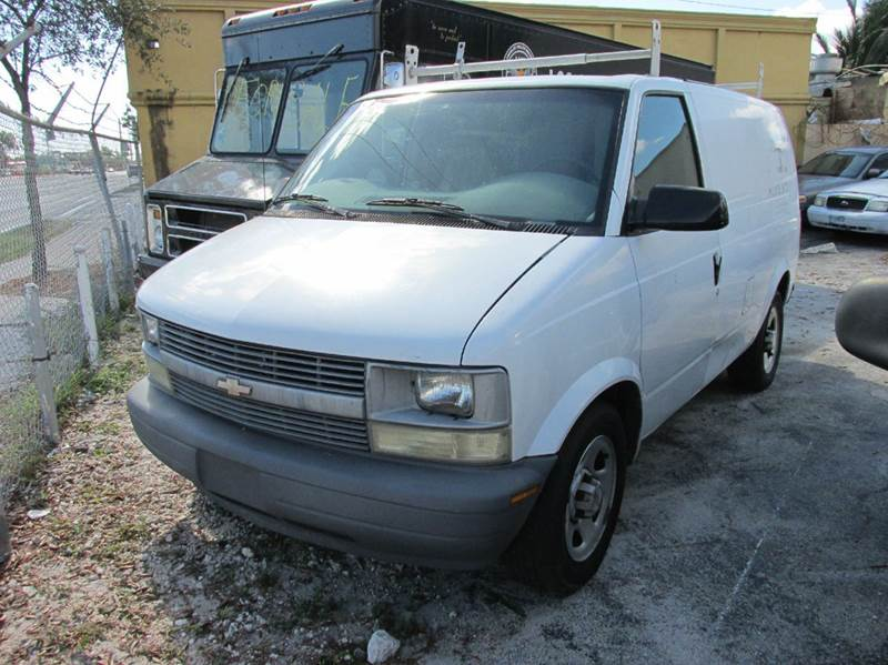 2005 chevrolet astro cargo base 3dr extended cargo mini van in miami fl tropical motor cars inc. Black Bedroom Furniture Sets. Home Design Ideas