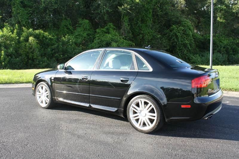 Audi S Quattro AWD Dr Sedan L V M In Tampa FL JMP - 2007 audi s4