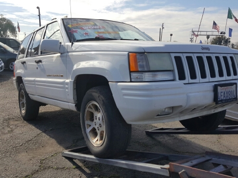 1998 jeep grand cherokee for sale california. Black Bedroom Furniture Sets. Home Design Ideas