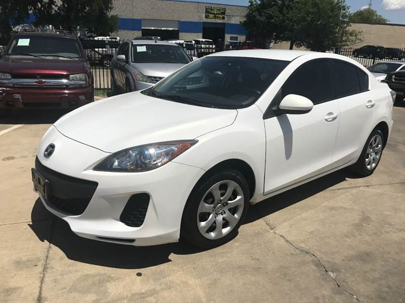 2013 Mazda MAZDA3 i Sport 4dr Sedan 6M - Garland TX