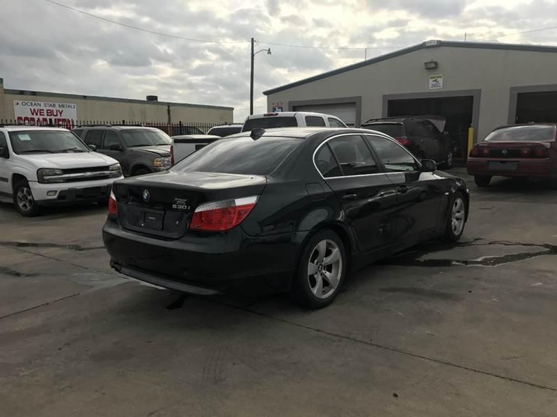 2007 BMW 5 Series 530i 4dr Sedan - Garland TX