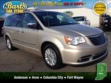 2013 chrysler town and country for sale in malvern ar. Black Bedroom Furniture Sets. Home Design Ideas