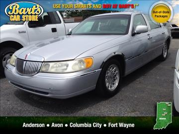 lincoln town car for sale indiana. Black Bedroom Furniture Sets. Home Design Ideas