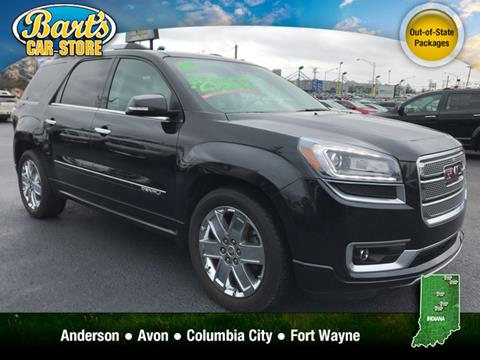 Fort Wayne Gmc Tires >> Used GMC Acadia For Sale in Fort Wayne, IN - Carsforsale.com