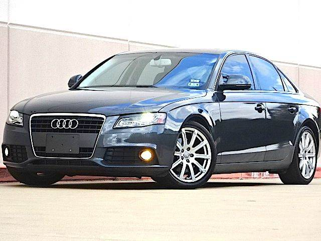 2009 AUDI A4 20T 4DR SEDAN charcoal all electrical and optional equipment on this vehicle have b