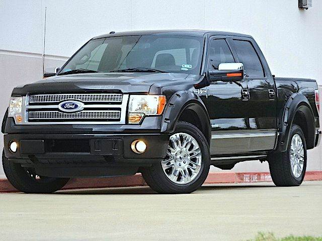2011 FORD F-150 PLATINUM 4X2 4DR SUPERCREW STYLE black all power equipment is functioning properly