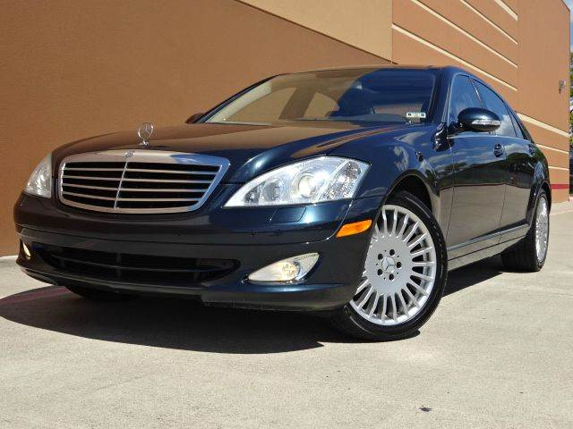2007 MERCEDES-BENZ S-CLASS S550 4DR SEDAN blue all electrical and optional equipment on this vehic
