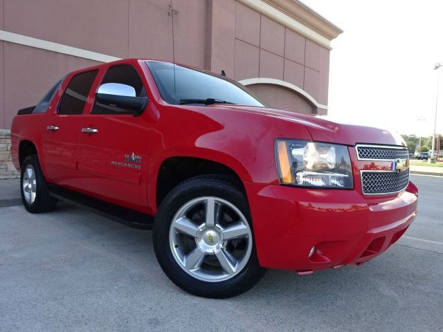 2010 CHEVROLET AVALANCHE LT 4X2 4DR PICKUP red the electronic components on this vehicle are in wo