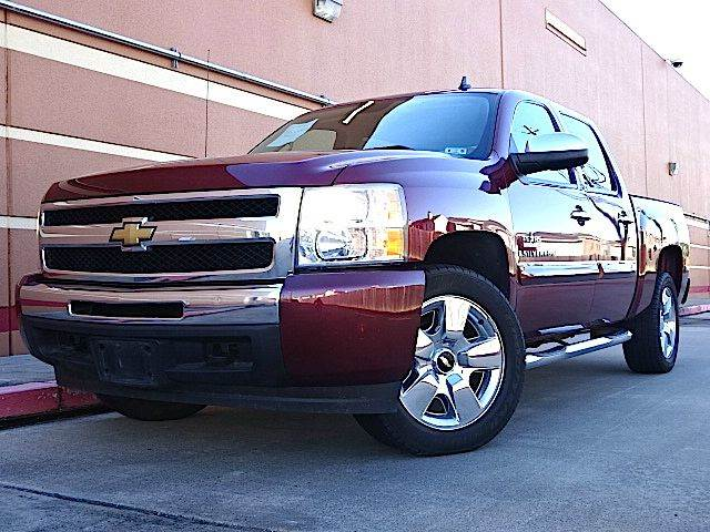 2009 CHEVROLET SILVERADO 1500 LT 4X4 PICKUP CREW CAB 4DR maroon you wont find any electrical probl