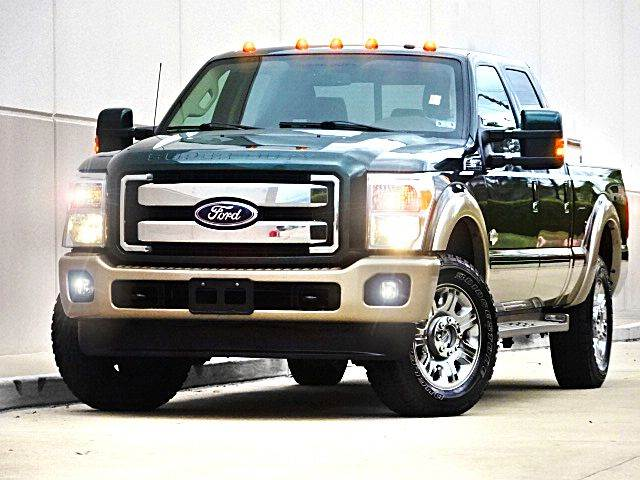 2012 FORD F-250 SUPER DUTY KING RANCH 4X4 4DR CREW CAB 8 FT green you wont find any electrical pro