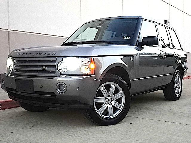 2007 LAND ROVER RANGE ROVER HSE 4DR SUV 4WD gray all power equipment on this vehicle is in working