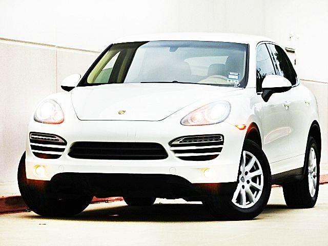 2011 PORSCHE CAYENNE BASE AWD CAYENNE 4DR SUV white 2-stage unlocking - remote 4wd type - full t