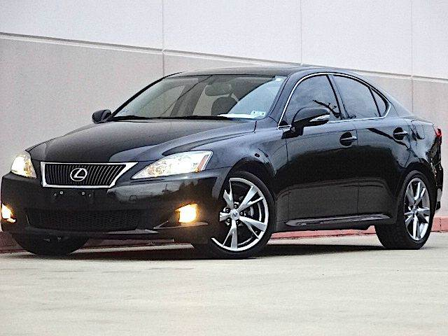 2010 LEXUS IS 250 BASE 4DR SEDAN 6A black the electronic components on this vehicle are in workin