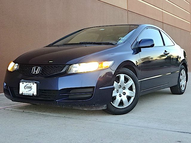 2010 HONDA CIVIC VP 4DR SEDAN 5A blue all power equipment is functioning properly  this vehicle h