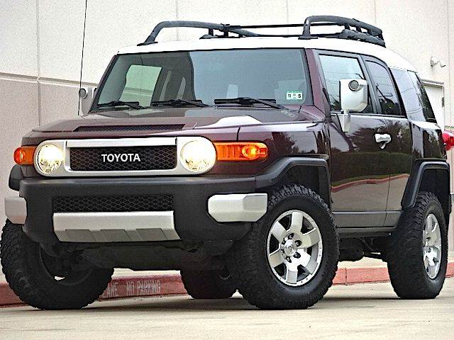 2007 TOYOTA FJ CRUISER BASE 4DR SUV the electronic components on this vehicle are in working order