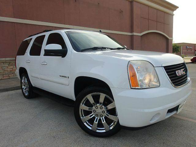 2008 GMC YUKON SLT 4X2 2 4DR SUV white the electronic components on this vehicle are in working o
