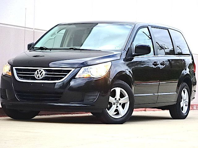 2010 VOLKSWAGEN ROUTAN SE 4DR MINI VAN W RAND NAV blue the electronic components on this vehicle