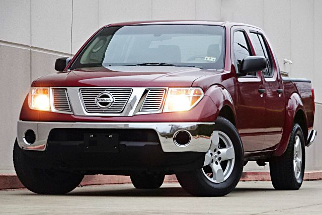 2008 NISSAN FRONTIER LE 4X2 PICKUP CREW CAB maroon all power equipment is functioning properly