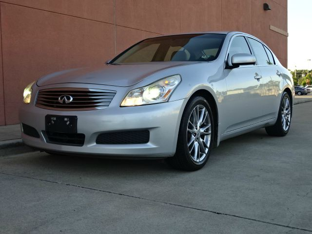 2007 INFINITI G35 JOURNEY 4DR SEDAN 35L V6 5A silver all power equipment on this vehicle is in
