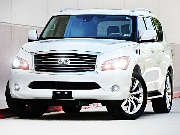 2011 INFINITI QX56 BASE 4X4 4DR SUV W SPLIT BENCH 2-stage unlocking - remote abs - 4-wheel acti