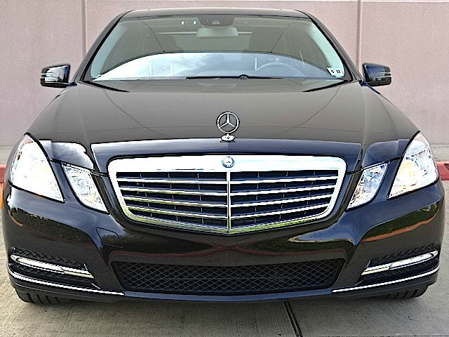 2012 MERCEDES-BENZ E-CLASS E350 LUXURY 4MATIC AWD 4DR SEDAN black all power equipment is functioni