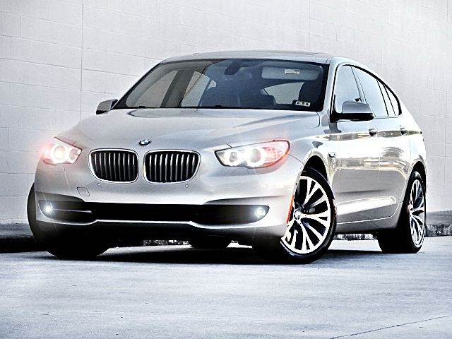 2010 BMW 5 SERIES 550I GRAN TURISMO 4DR HATCHBACK tan 2-stage unlocking - remote abs - 4-wheel