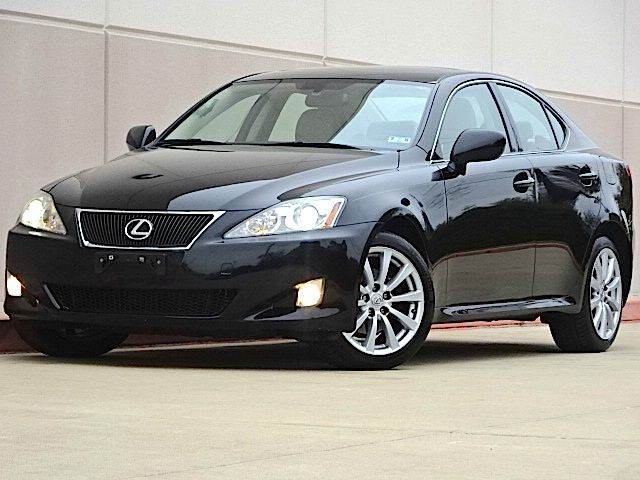2008 LEXUS IS 250 BASE AWD 4DR SEDAN black the electronic components on this vehicle are in workin