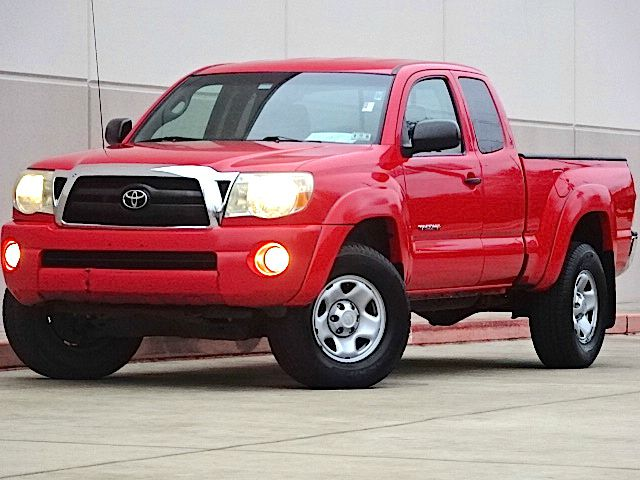 2008 TOYOTA TACOMA PRERUNNER V6 4X2 4DR ACCESS CAB red there are no electrical concerns associated