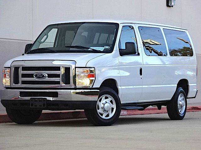 2011 FORD E-SERIES WAGON E-350 SD XLT 3DR PASSENGER VAN white all power equipment on this vehicle
