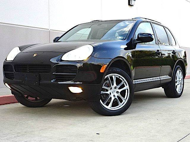 2006 PORSCHE CAYENNE TIPTRONIC AWD 4DR SUV black all power equipment is functioning properly  th