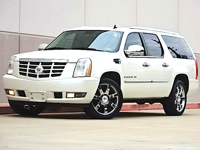 2009 CADILLAC ESCALADE ESV BASE 4DR SUV pearl white all power equipment on this vehicle is in work