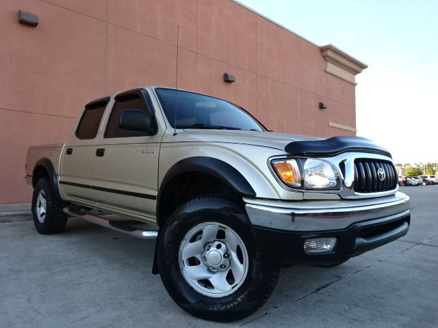 2002 TOYOTA TACOMA PRERUNNER V6 4DR DOUBLE CAB 2WD gold you wont find any electrical problems with