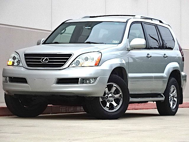2004 LEXUS GX 470 BASE 4WD 4DR SUV silver all power equipment is functioning properly  this vehic