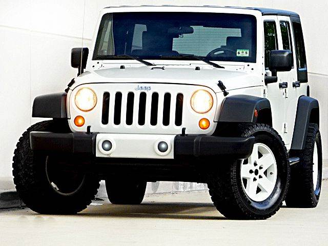 2008 JEEP WRANGLER UNLIMITED X 4X2 SUV white all power equipment on this vehicle is in working or