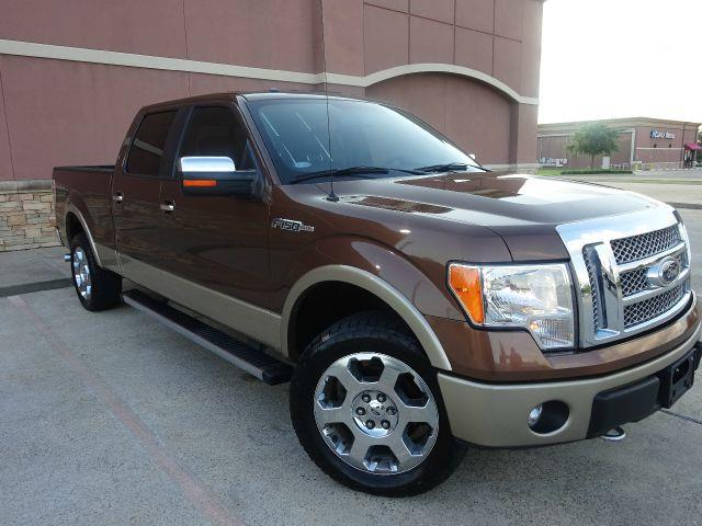 2012 FORD F-150 LARIAT 4X4 4DR SUPERCREW STYLESI brown the electronic components on this vehicle a