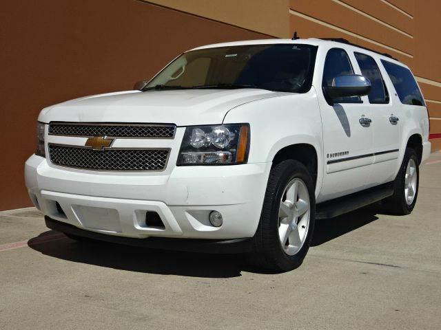 2009 CHEVROLET SUBURBAN LTZ 1500 4X2 4DR SUV white 2-stage unlocking - remote abs - 4-wheel alt