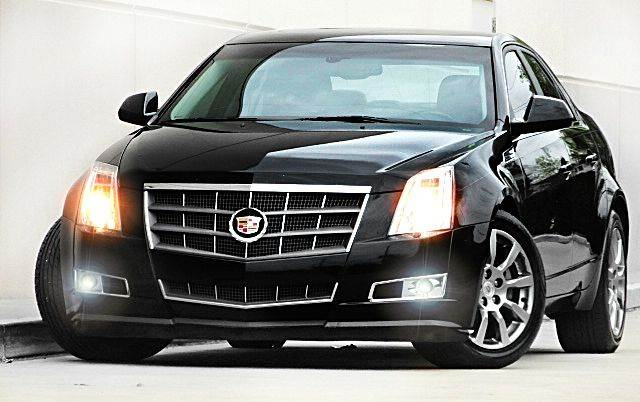 2009 CADILLAC CTS 36L DI 4DR SEDAN W AUTO HIGH black all electrical and optional equipment on