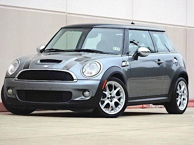 2007 MINI COOPER S 2DR HATCHBACK gray the electronic components on this vehicle are in working or