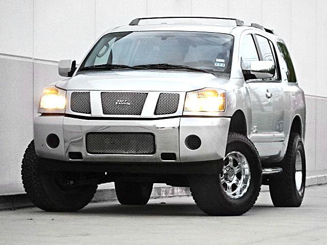 2007 NISSAN ARMADA 4DR SUV 2-stage unlocking - remote abs - 4-wheel adjustable pedals air filtr