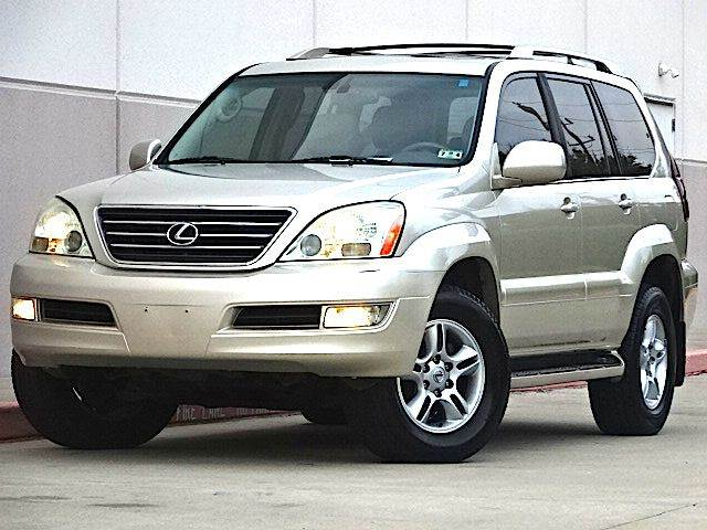 2006 LEXUS GX 470 SPORT UTILITY tan all power equipment is functioning properly  nothing about t