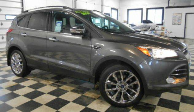 2014 FORD ESCAPE SE AWD 4DR SUV grey metallic clean carfax  one owner  smoke-free interior  upg