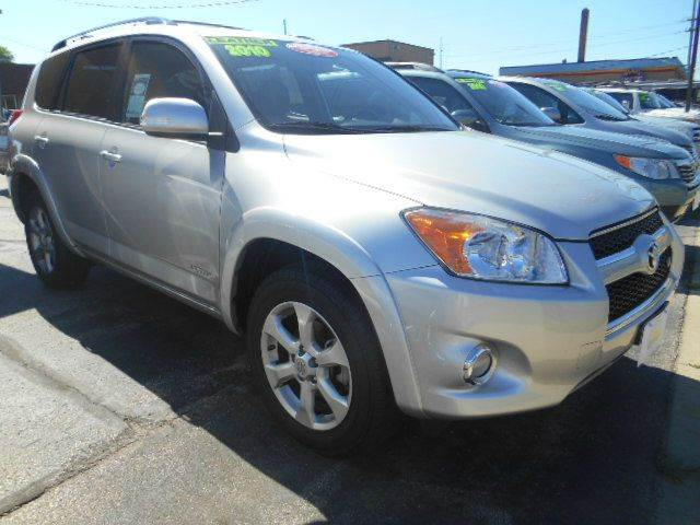 2010 TOYOTA RAV4 LIMITED 4X4 4DR SUV V6 silver clean carfax  one owner  smoke-free interior  to