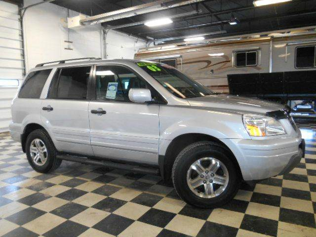 2003 HONDA PILOT EX-L 4DR 4WD SUV silver clean carfax  smoke-free interior  exceptionally nice