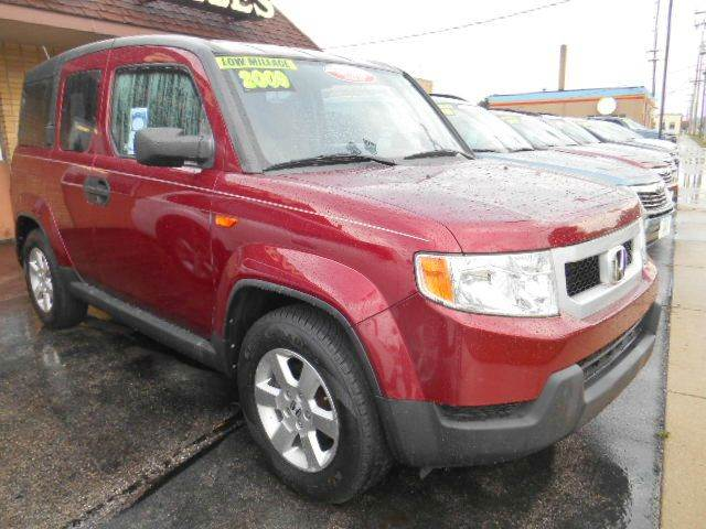 2009 HONDA ELEMENT EX AWD 4DR SUV 5A maroon please do not reply via carguruscom    upgraded ex