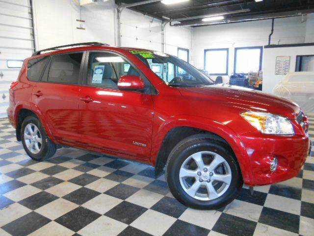 2011 TOYOTA RAV4 LIMITED 4X4 4DR SUV V6 red clean carfax  smoke-free interior  top-of-the-line l